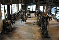 Machine Shop - Southern Forest Heritage Museum