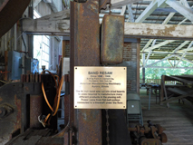 Historic Saw - Southern Forest Heritage Museum