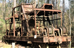 Rehaul Skidder- Southern Forest Heritage Museum
