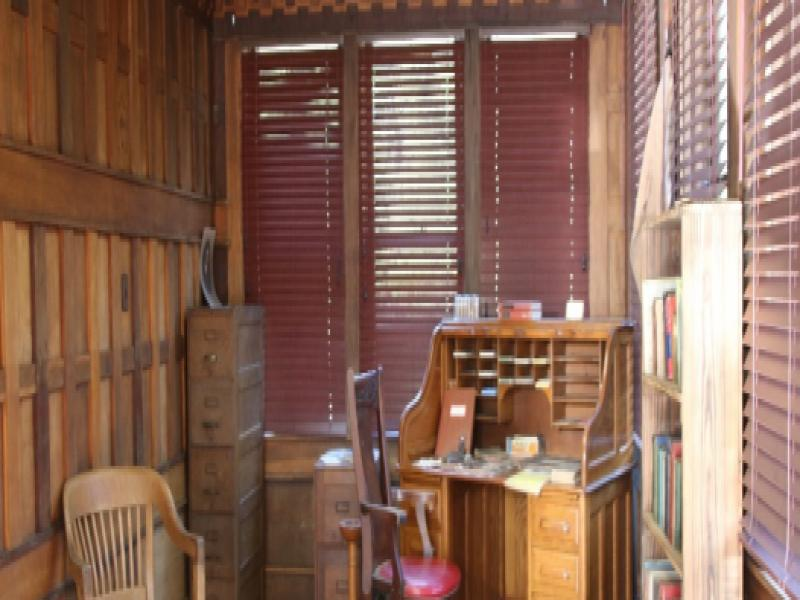 Southern Forest Heritage Museum Exhibit - Henry Hardtner Office