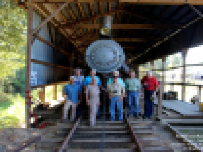 Red River & Gulf Engine #106 Work Session - Work Crew