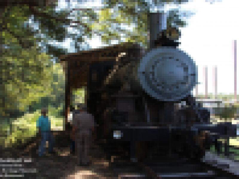 Red River & Gulf Engine #106 Work Session