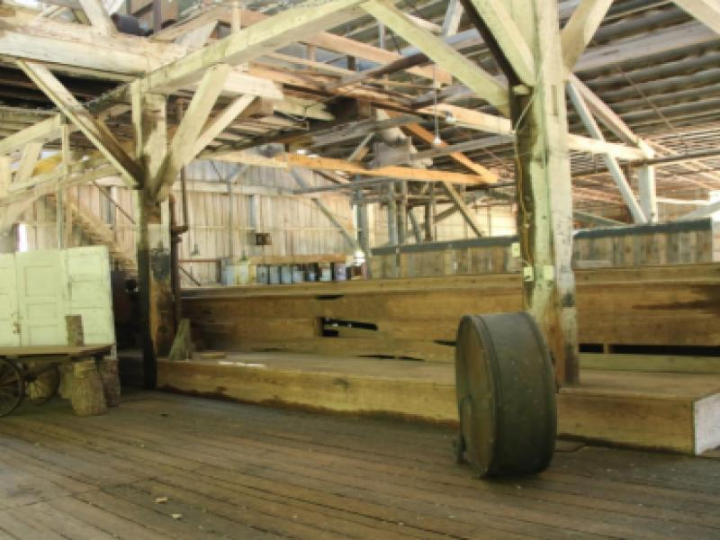 Planer Mill at the Southern Forest Heritage Museum
